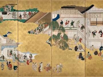 Scenes from the Nakamura Kabuki Theater