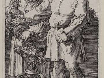 A Peasant and His Wife