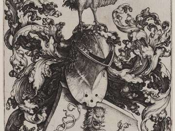 Coat-of-Arms with the Cock