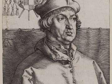 Cardinal Albrecht of Brandenburg (The Small Cardinal)