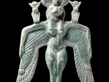 Winged goddess pectoral