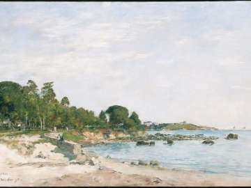 Juan-les-pins, the Bay and the Shore