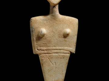 Female figure, Chalandriani type