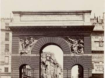 Porte St. Martin, Paris
