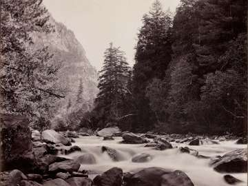 Cascades on the Scinde River, Kasmir