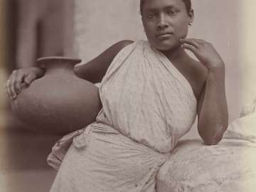 Singhalese Woman, Ceylon