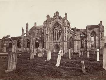 Melrose Abbey (From S.)