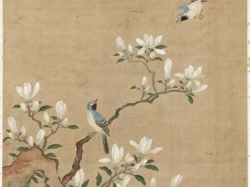 Bulbuls and Magnolias from the album Birds and Flowers