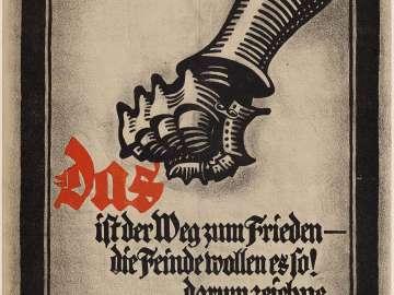 Das ist der Weg zum Frieden—die Feinde Wollen es so! Darum zeichne Kriegsanleihe!