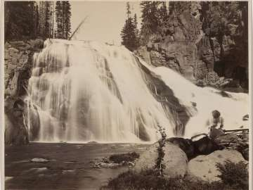 Gibbon Falls, Yellowstone Park