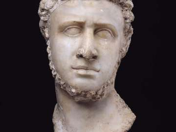 Portrait head of a late Ptolemaic ruler (Ptolemy IX?)