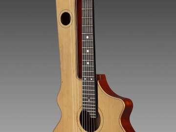 Guitar-lyre (chitarra-lyra ad un braccio)