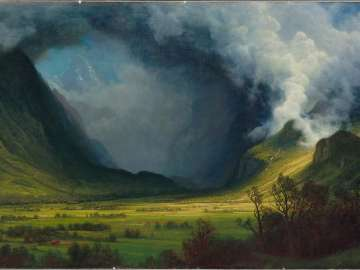 Storm in the Mountains