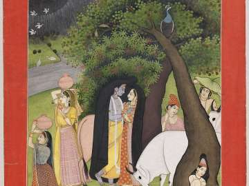 Krishna and his favorite shelter from a storm
