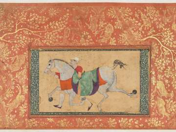 Man Leading a Horse
