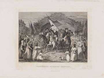 Triumphal Entry of General George Washington