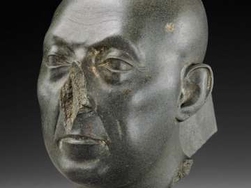 Head of a priest (The Boston Green Head)