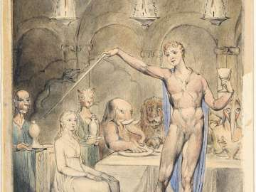 The Magic Banquet (Illustration to Milton's