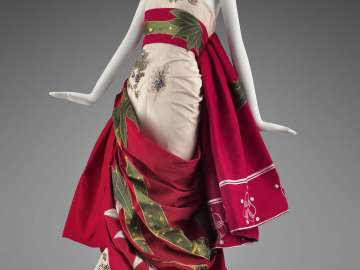 Woman's evening dress: Katisha-San