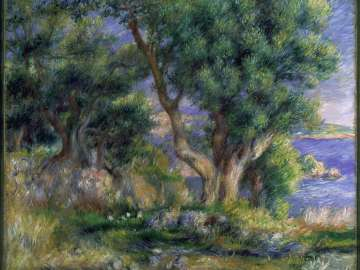 Landscape on the Coast, near Menton