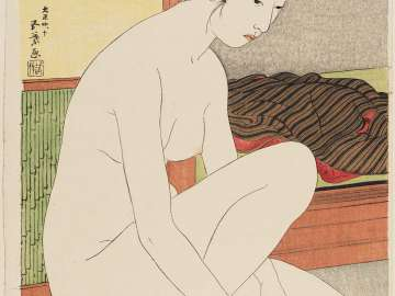 Woman at the Bath (Yokujô no onna)