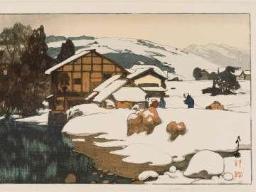 Snow at Kashiwabara (Kashiwabara no yuki)