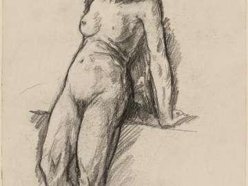 Female nude, full length