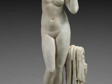 Statuette of Aphrodite rising from the sea (Anadyomene)