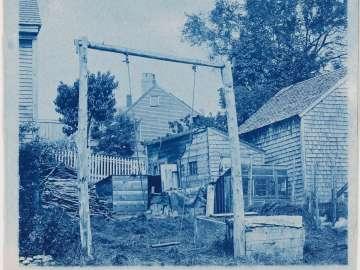 """Children's Swing, Behind Houses"" (variant 2)"