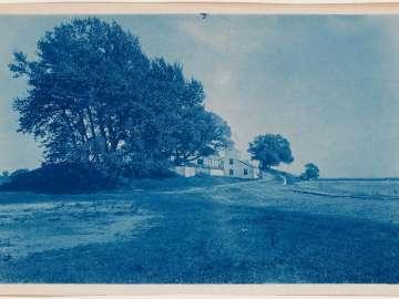 Farmhouse and Trees (variant 1)