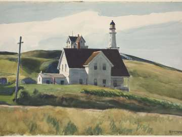 Hill and Houses, Cape Elizabeth, Maine