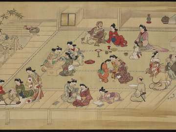 Genre Scenes in Edo in the Four Seasons