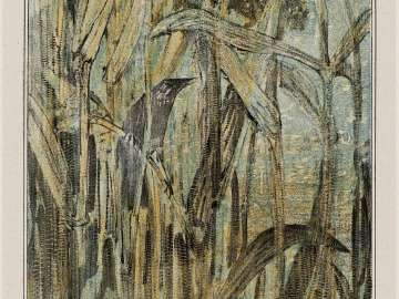 Reed Warbler (1907 Calendar: September)