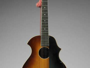 Arch-top guitar (Venetian model, style A)