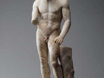 Athlete with a scraper (Apoxyomenos)