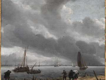 View across the River Y toward Amsterdam