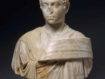 Portrait of  young Elagabalus