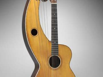 Harp guitar (Symphony model, Style 5)