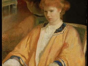 Mrs. Howard Cushing (Ethel Cochrane) (The Mandarin Coat)