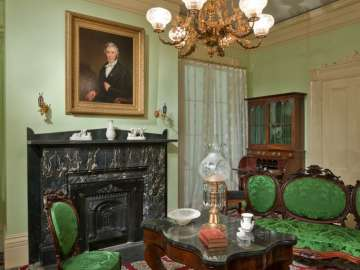 Roswell Gleason House Parlor