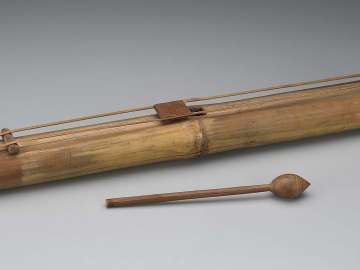 Zither (gintang) and mallet