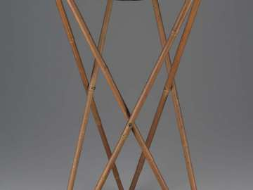 Frame drum (mantougu) and stand
