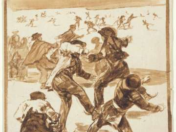 Ice Skaters, from Album F (Images of Spain Album), 30