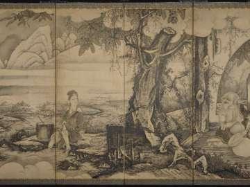 Pang Jushi (Hôkoji) and Ling Zhaonu (Reishôjo): Parody of Jiumei (Kume) the Transcendent