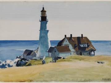 Lighthouse and Buildings, Portland Head, Cape Elizabeth, Maine
