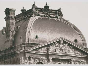 Roof, Pavillon Sully, Louvre