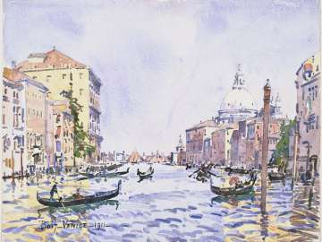 Venice, Afternoon on the Grand Canal