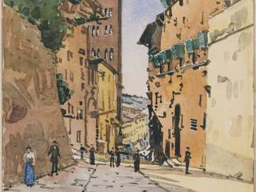 A Street in Arezzo
