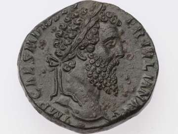 Sestertius with bust of Didius Julianus