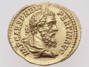 Aureus with bust of Pertinax